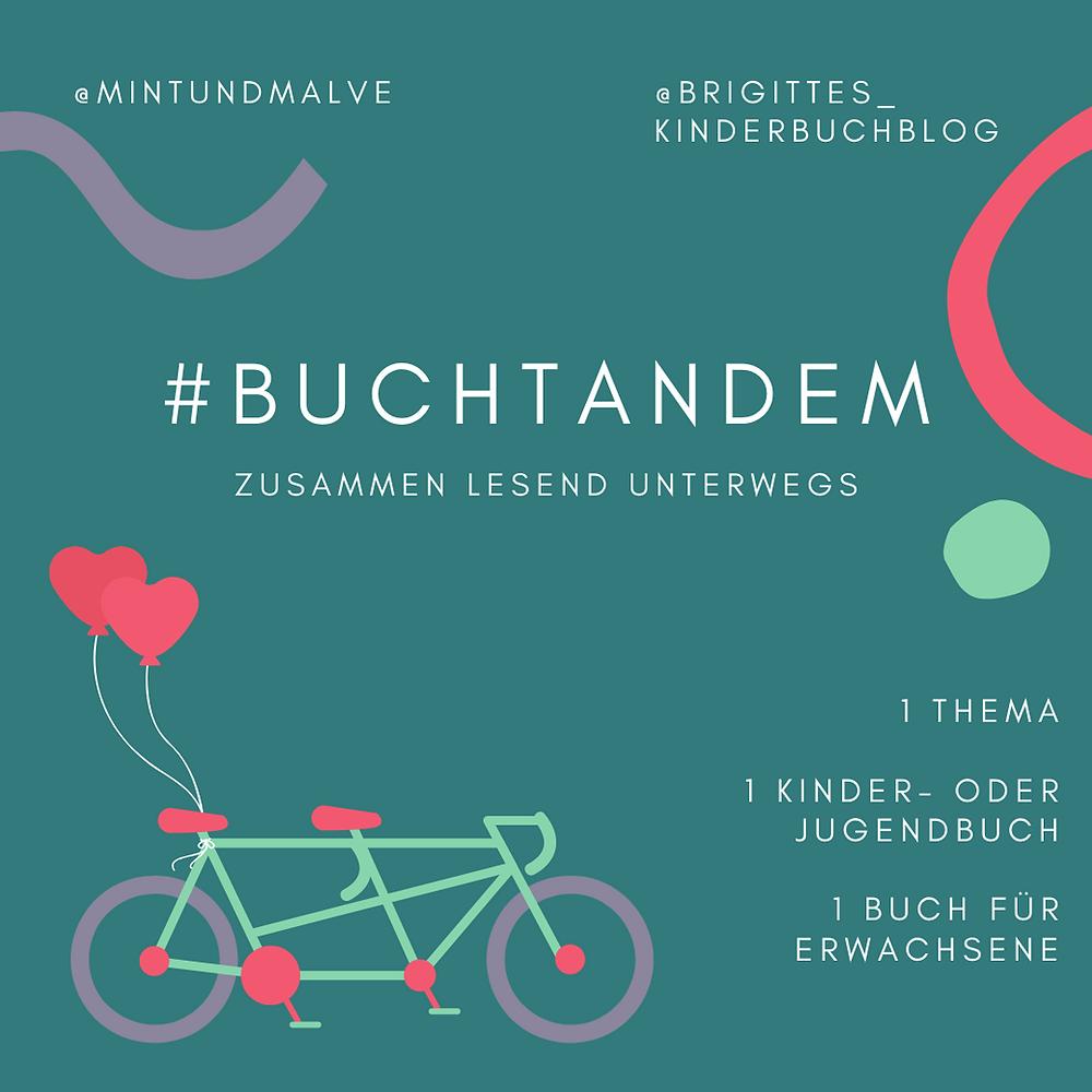 #buchtandem - Instagram-Aktion von @mintundmalve und @brigittes_kinderbuchblog