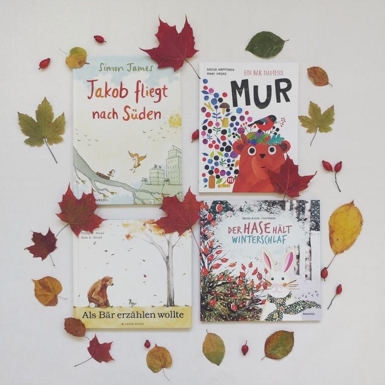 Buchtipps MINT & MALVE: Kinderbücher Herbst und Winter