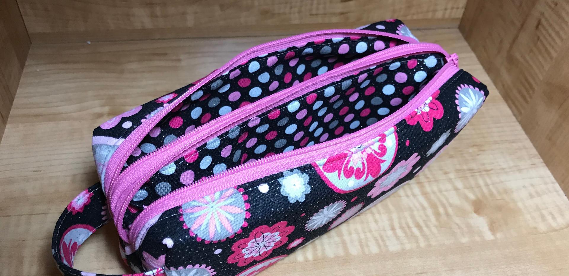 Annex Double Zipper Bag