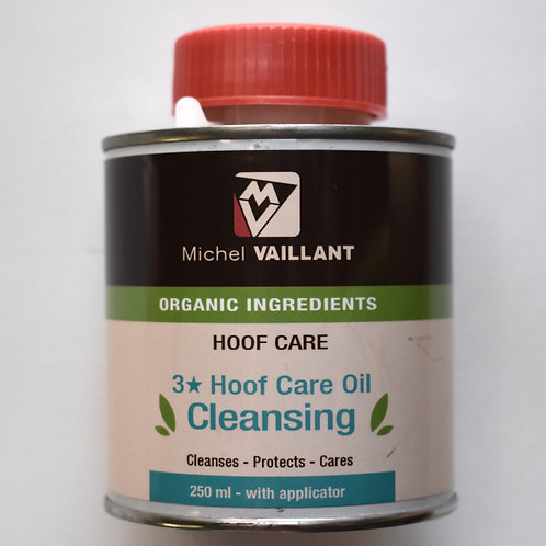 Cleansing Hoof Care Organic 3* Oil 8oz