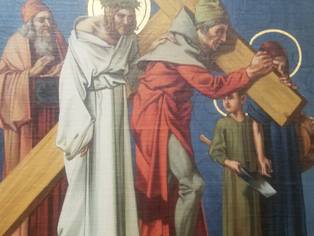 Companions Beneath the Cross