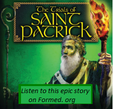 St. Patrick & The Freedom  To Carry The Cross