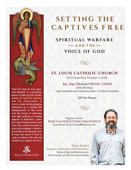 Setting the Captives Free Flyer Template