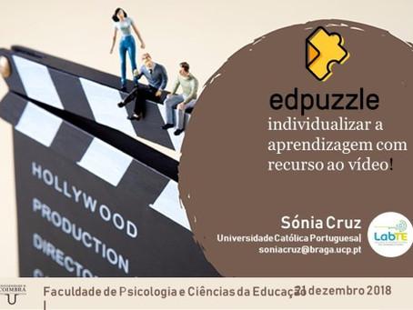 EdPuzzle para individualizar a aprendizagem com recurso ao vídeo