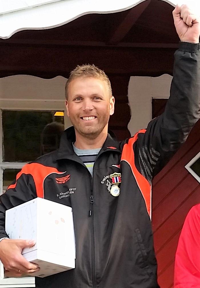 Stein Ove Stoddern, 3 plass NR 2018