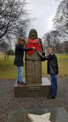 Torheim statuen