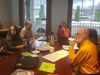 Styremøte i NHF i Førde