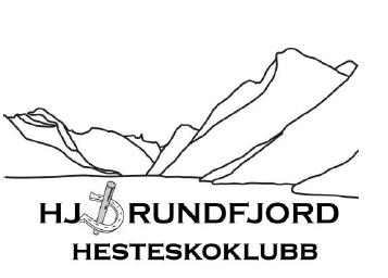 Logo Hjørundfjord Hesteskoklubb