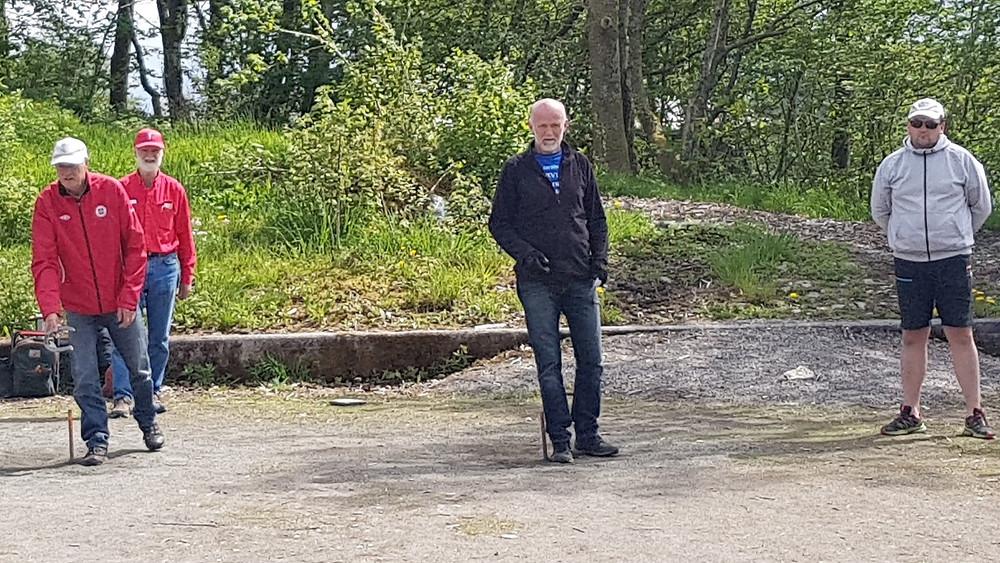 Dei 4 første i NC1 Lindås 21. mai 2017.