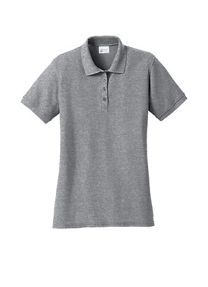 Embroidered LHA Port & Company® Ladies Core Blend Pique Polo