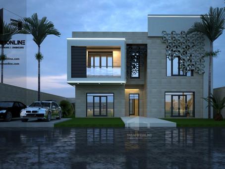 فكرة تصميم لفيلا سكنية