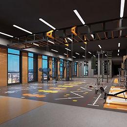 Fitness Center Design تصميم نادى رياضى