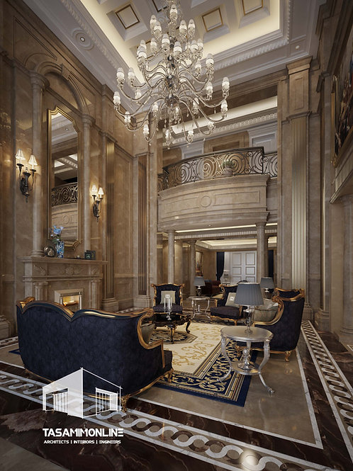 Luxury Classic Villa Design تصميم فيلا كلاسيك فخمة
