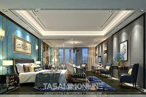 Villa interior design تصميم داخلي لفيلا