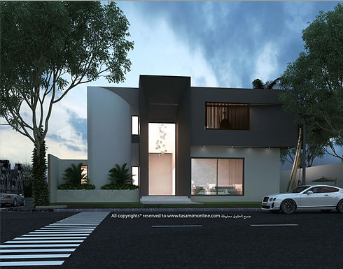 Modern Luxury Home تصميم حديث لبيت فخم
