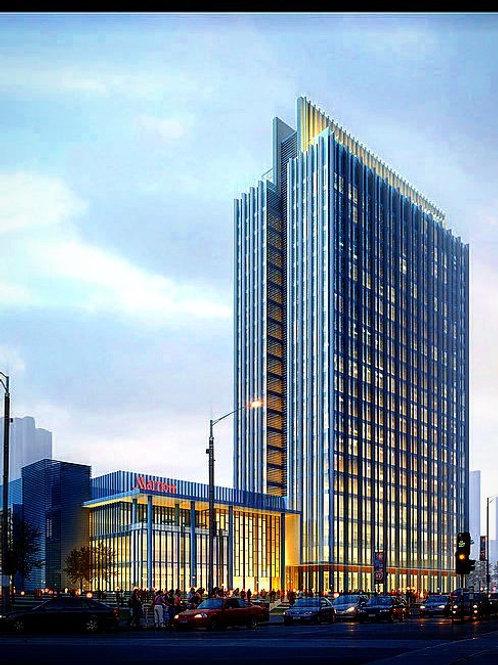 Hotel Concept Design فكرة تصميم فندق