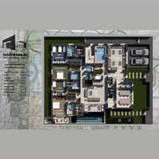 مخطط فيلا سكنية