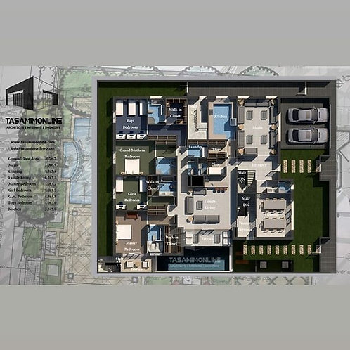 Residential Design تصميم سكنى