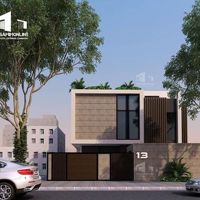 تصميم فيلا مودرن #الرياض، #السعودية من #