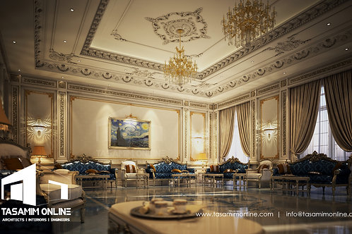 Interior Design per meter square تصميم دخلي بالمتر المربع