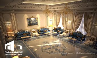 Tasamim online villa classic interior de