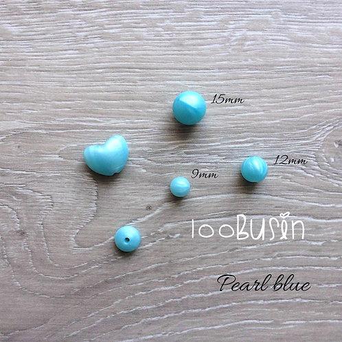 Фурнитура нового цвета Pearl blue из пищевого силикона