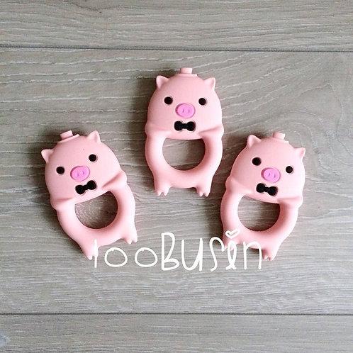 Свинка new прорезыватель из пищевого силикона