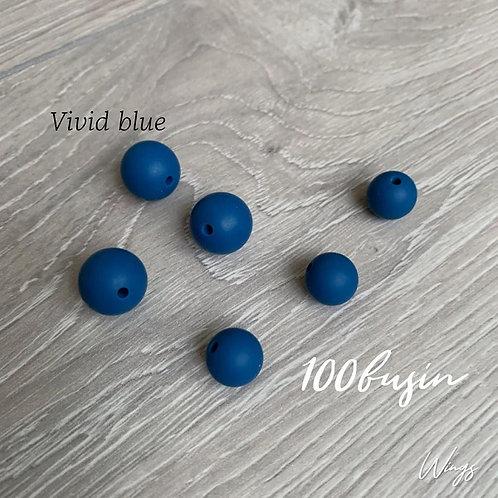 Фурнитура нового цвета Vivid Blue из пищевого силикона
