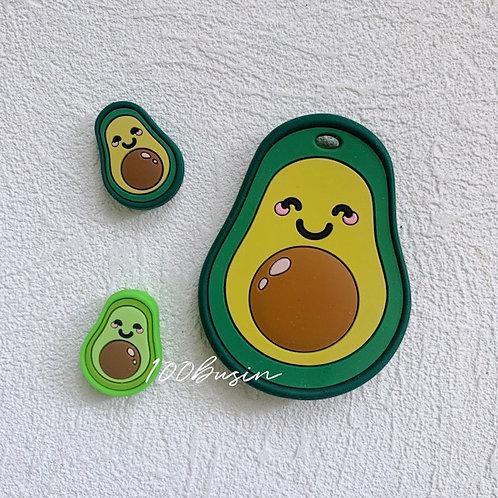 Авокадо бусинка из пищевого силикона