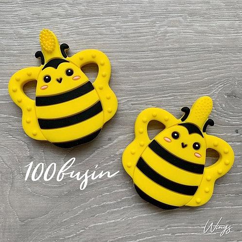 Прорезыватель щетка в форме пчелки