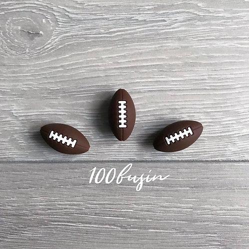 Мяч регби бусина из пищевого силикона