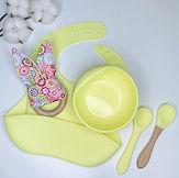 Набор посуды с нагрудником силикон.JPG