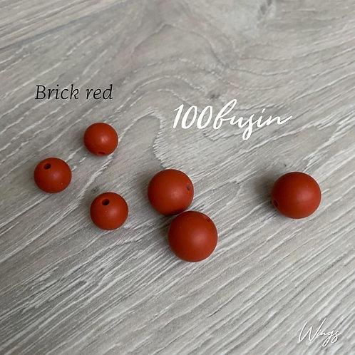 Фурнитура нового цвета Brick red из пищевого силикона