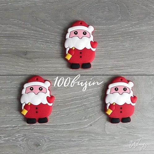 Дед мороз, санта клаус прорезыватель из  пищевого силикона