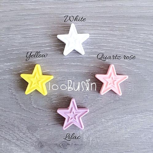 Звезда двойная из пищевого силикона