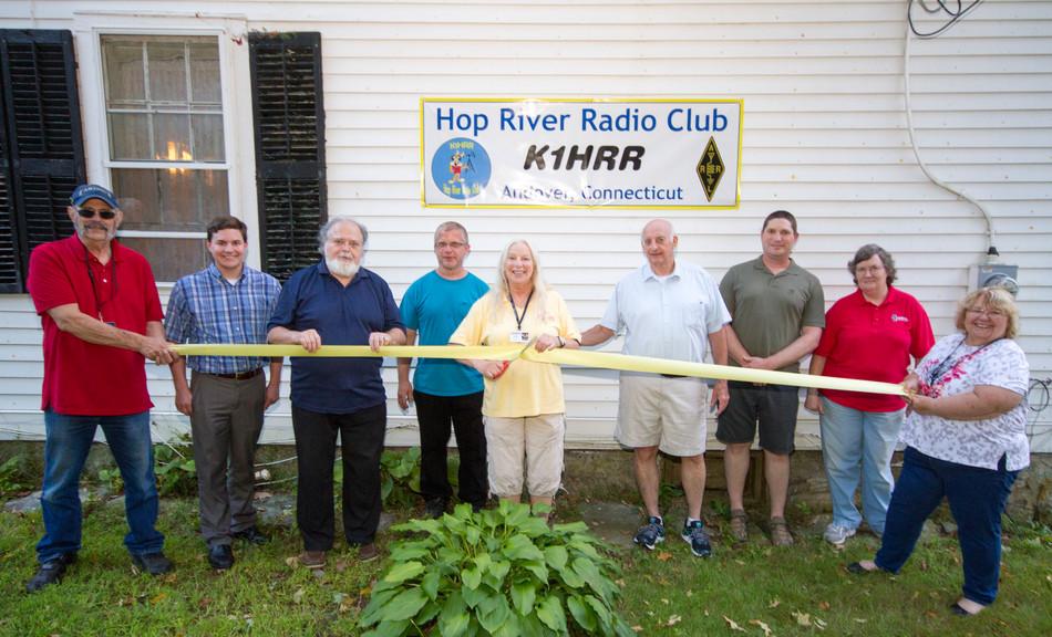 Hop River Radio Club Celebrates Grand Opening of Station K1HRR
