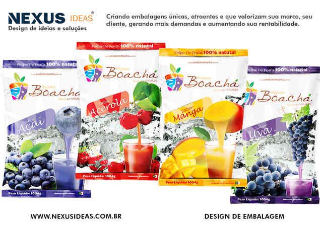 BOACHA POLPAS DE FRUTAS