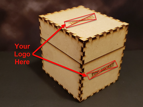 Card Box with Logo - Small