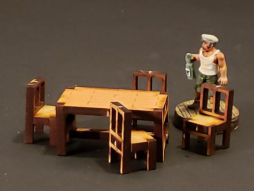 Table-Rectangular