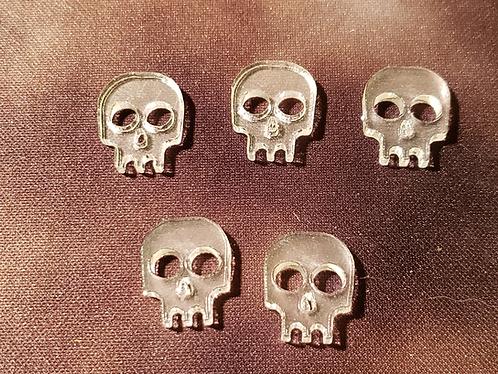 Skull Tokens - Clear