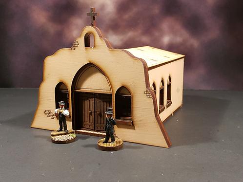 Adobe Mission Chapel