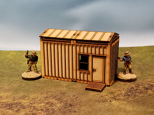 Container Housing Unit - Side