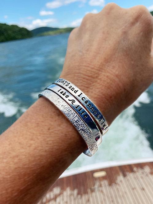 Lake Life Cuff Bracelet