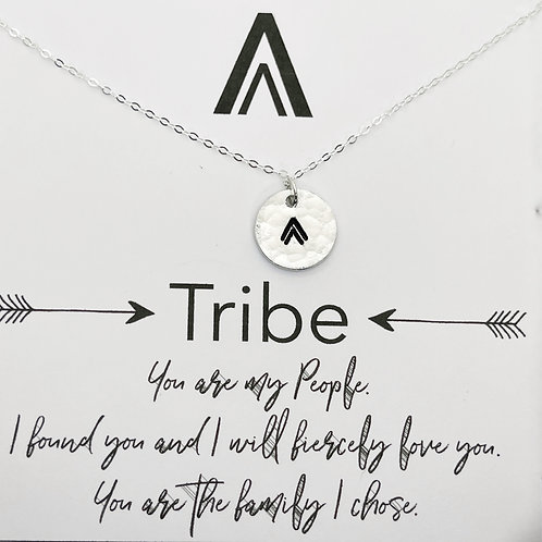 My Tribe Necklace Double Arrow