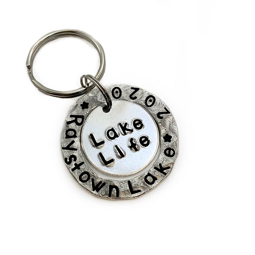Lake Life Keychain - Custom Lake Name