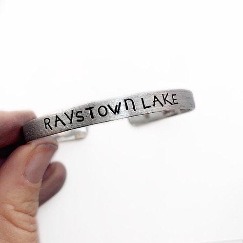 Custom Lake Name Bracelet