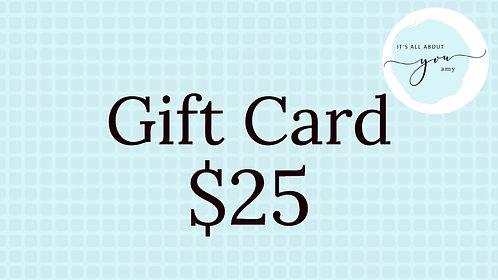 Digital Gift Card $25