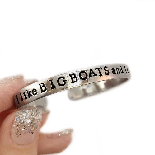 I Like Big Boats and I cannot Lie!