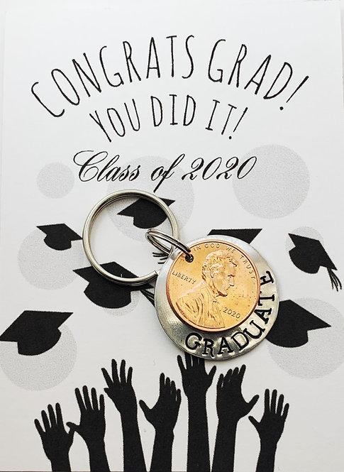 2020 Graduate Keychain
