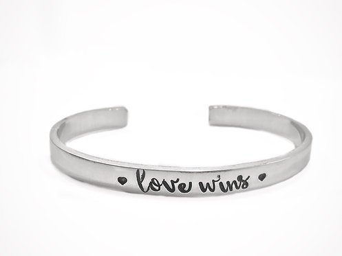 Love Wins Cuff Bracelet